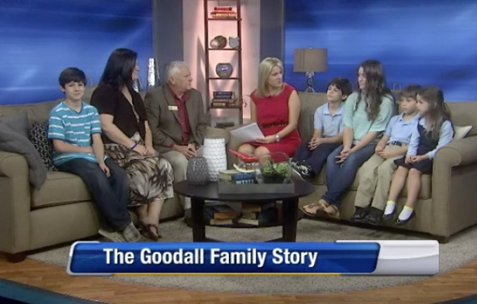 "Watch The Goodall Family on ""The Morning Show"" WJXT 4"