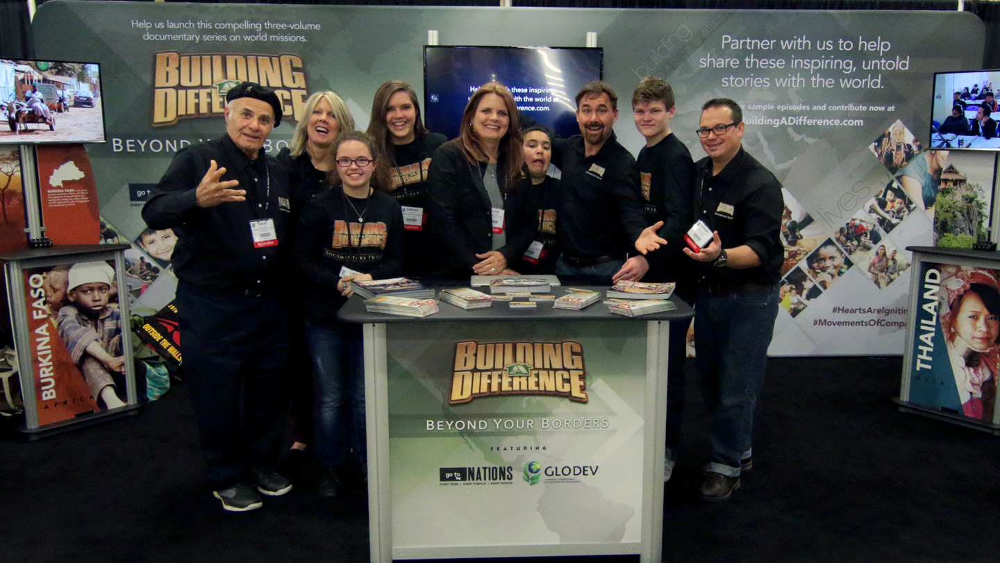 "Building a Difference Debuts ""Beyond Your Borders"" Video Preview at NRB"