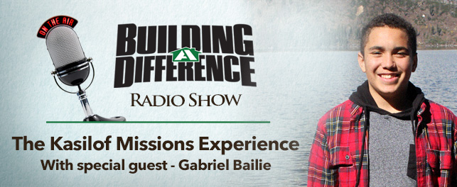 Gabriel Bailie and his Kasilof Missions Experience