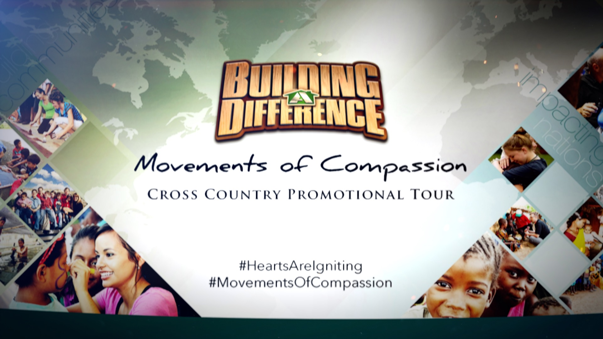 WATCH NEW Movements of Compassion Tour VIDEO UPDATE!!!