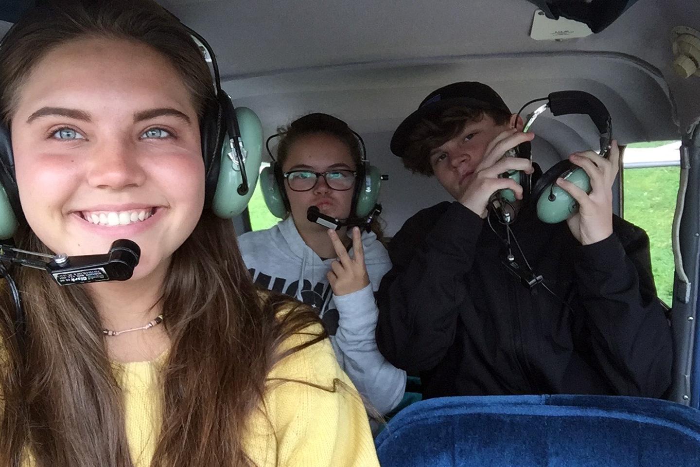 Plane-Ride